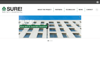 sure-project.net screenshot