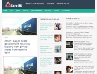 surenigeria.blogspot.com screenshot