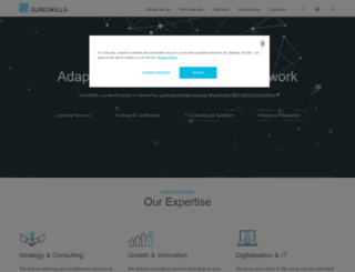 sureskills.com screenshot
