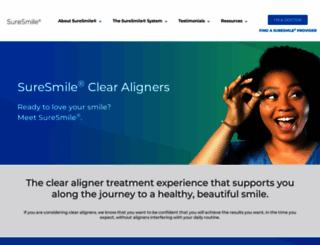 suresmile.com screenshot