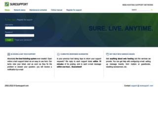 suresupport.com screenshot