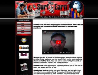 surf-to-earn.com screenshot