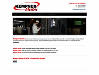 surf.kempnerelectric.com screenshot