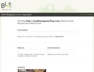 surf.timmypesj.blog.com screenshot