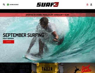 surf3.es screenshot