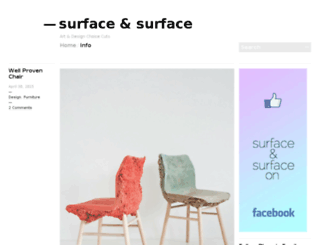 surfaceandsurface.com screenshot
