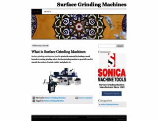surfacegrindingmachines.wordpress.com screenshot