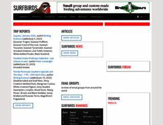 surfbirds.com screenshot