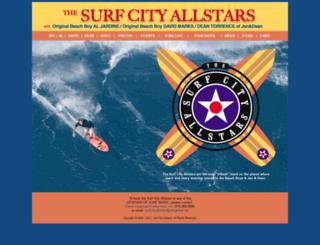 surfcityallstars.com screenshot