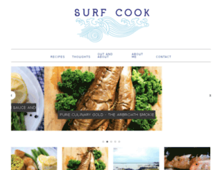 surfcook.co.uk screenshot