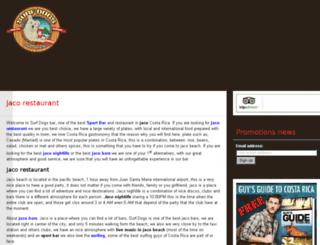 surfdogsbar.com screenshot