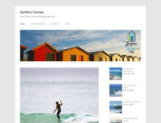 surfers-corner.co.za screenshot