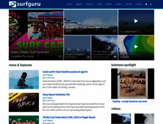 surfguru.com screenshot