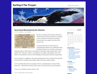 surfing4thetroops.wordpress.com screenshot