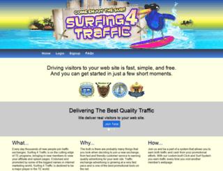 surfing4traffic.com screenshot