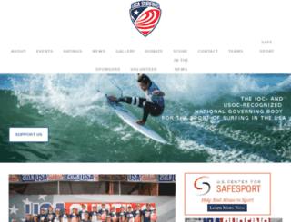 surfingamerica.org screenshot