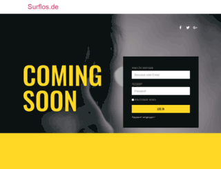 surflos.de screenshot