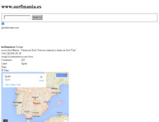 surfmania.es.glomtdoman.com screenshot