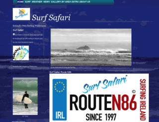 surfsafari.ie screenshot