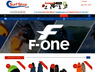 surfshop.fr screenshot