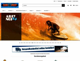 surfshoponline.de screenshot