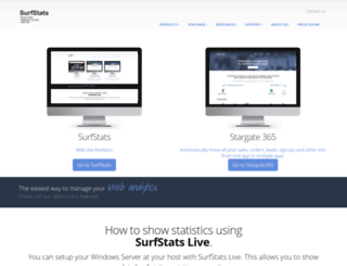 surfstats.com screenshot