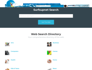 surfsupnet.com screenshot