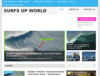surfsupworld.com screenshot