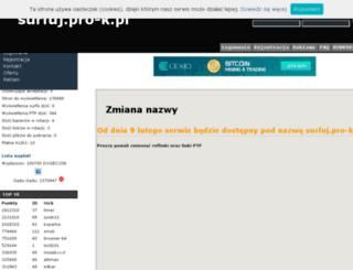 surfuj.pro-k.pl screenshot