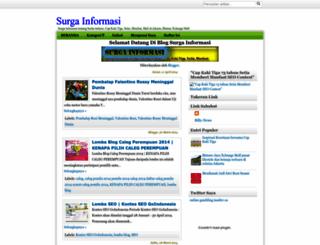 surga-informasi.blogspot.com screenshot