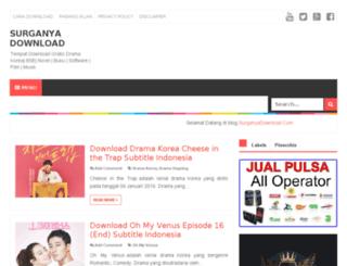 surganyadownload.blogspot.com screenshot