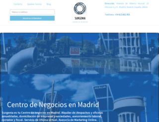 surgenia.es screenshot