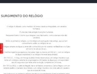surgimentodorelogio.com screenshot