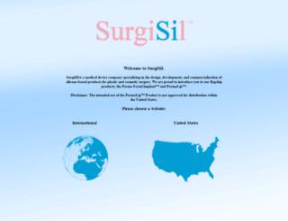 surgisil.com screenshot