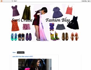suricruisefashion.blogspot.com screenshot