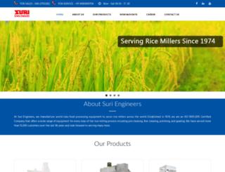 suriengineers.co.in screenshot