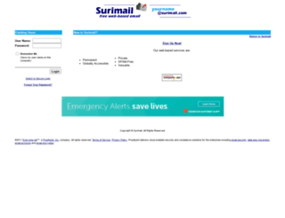 surimail.com screenshot