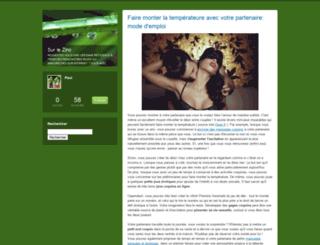 surlezinc.blogs.com screenshot