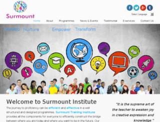 surmount-institute.com screenshot