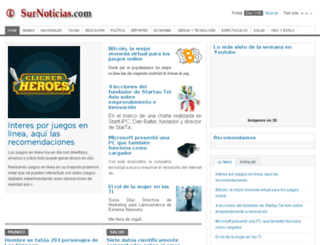 surnoticias.com screenshot