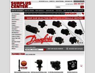surpluscenter.com screenshot