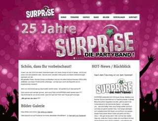 surprise.de screenshot