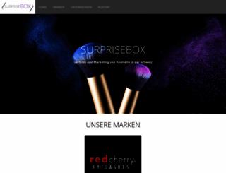 surprisebox.ch screenshot
