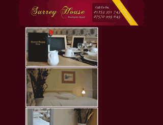 surreyhousehotel.com screenshot