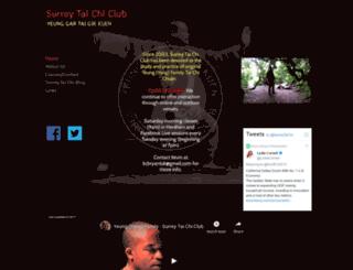 surreytaichi.co.uk screenshot