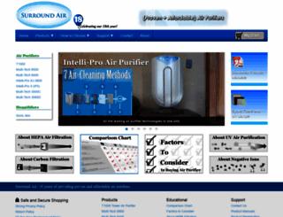 surroundair.com screenshot