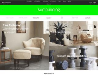 surrounding.com.au screenshot