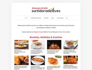 surtidoradeaves.com screenshot