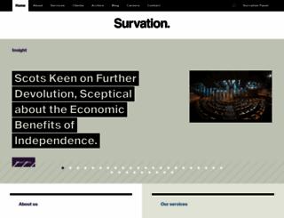 survation.com screenshot