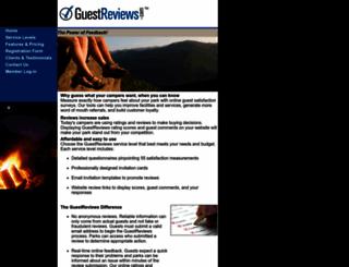 survey.guestrated.com screenshot